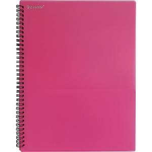 에셀트 PP 8포켓 화일 분홍