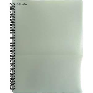 에셀트 PP 8포켓 화일 하양