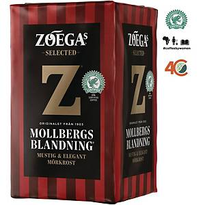 ZOEGAS MOLLBERGS COFFEE 500G