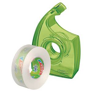 Zásobník s páskou tesa® EcoLogo, páska Eco & Clear, 19 mm x 33 m