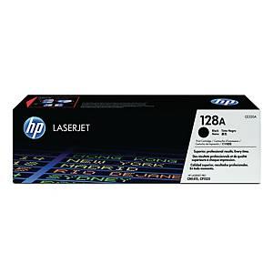 HP CE320A LaserJet Toner Cartridge (128A)- Black
