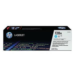 HP CE321A LaserJet Toner Cartridge (128A) - Cyan