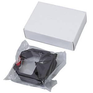 VERTEX ผ้าหมึกเครื่องตอกบัตร รุ่น VT-710/810 สีดำ/แดง