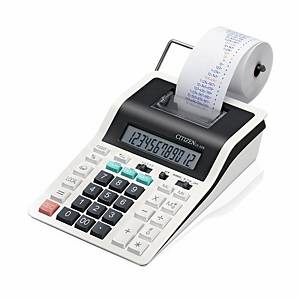 Calculatrice de bureau Citizen CX-32N, imprimante, affich. 12chiffres, blc
