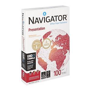 Papier A4 blanc Navigator Presentation premium, 100 g, les 500 feuilles
