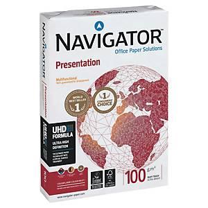 Kopierpapier Navigator Presentation A4, 100 g/m2, weiss, Pack à 500 Blatt