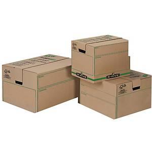Pack de 5 caixas de embalagem Fellowes Bankers Box - 304 x304 x406 mm
