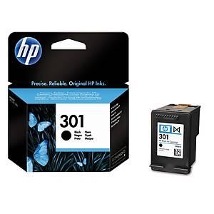 Blækpatron HP 301 CH561E, 190 sider, sort