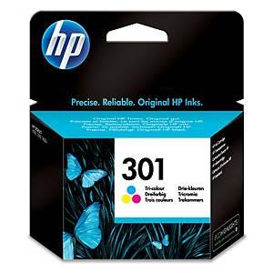 Cartucho de tinta HP 301 - CH562EE - tricolor