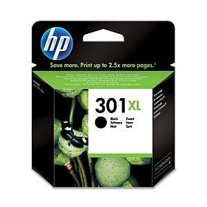 HP inkoustová kazeta 301XL (CH563EE), černá