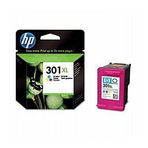 Cartuccia inkjet HP CH564EE 301XL 330 pag colori