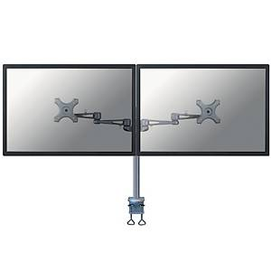 Newstar FPMA-D935D monitor arm for 2 flat screens silver gray