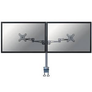 NewStar FPMA-D935D monitorarm voor 2 flatscreens, zilvergrijs
