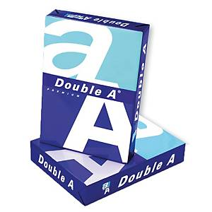 DOUBLE A White F14 Copy Paper 80G  5 Reams/Box