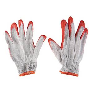 HOUSEHOLD MATERIAL GLOVES W/RUBBER