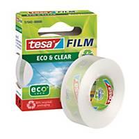 Tesa Eco & Clear Klebefilm, kristallklar