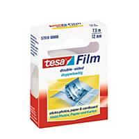 Tesa Film doppelseitiges Klebeband, 12 mm x 7,5 m