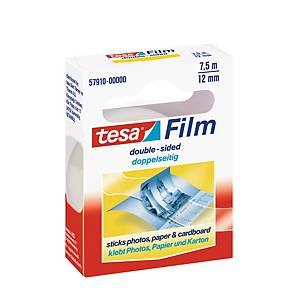 Tesa Film kétoldalas ragasztószalag, 12 mm x 7,5 m