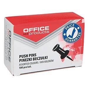 PK100 CHART PINS ASSTD COL