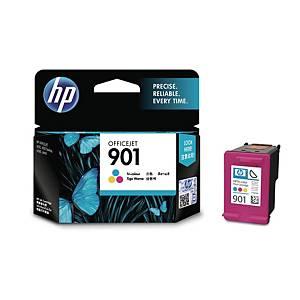 HP901 TRICOLOUR CC656AA OFF JET INK CARTRIDGE