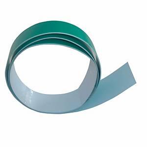 Bande magnétique Berec, 35 mm x 1 m, autocollante, avec 3 aimants, blanc