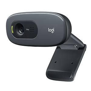 Webcam Logitech C270. 720p, window focus