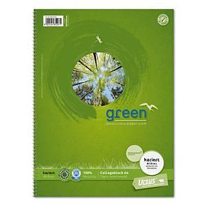 Ursus Notizbuch A4 80 Blatt 70 g kariert