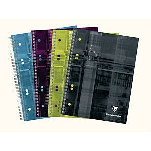 Notesbog Clairefontaine Bind O Block, A5, linjeret