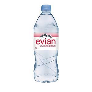 Evian eau minérale non gazeuse, emb. de 6x1 l
