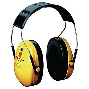 Kapselgehörschützer mit Kopfbügel 3M Optime I, 27dB, gelb/schwarz