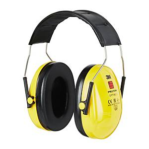 Casque anti-bruit serre-tête 3M™ Peltor™ Optime™ I, SNR 27 dB, jaunes