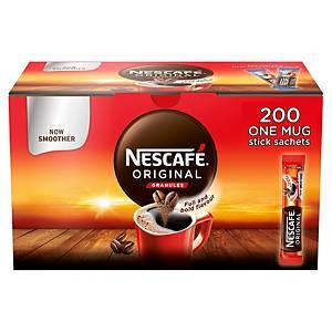 Nescafé Original Instant Coffee Stick Packs Box of 200