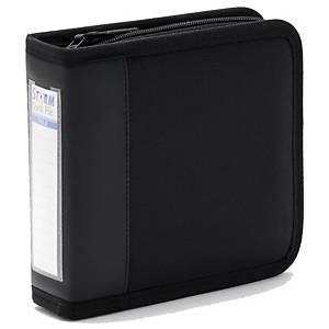 STORM กระเป๋าใส่ซีดี 30 แผ่น QF012 ผ้า ดำ