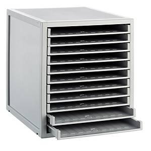 Módulo de organización Archivo 2000 - 11 bandejas - gris