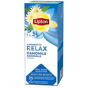 Lipton sachet thé Camomille - boîte de 25