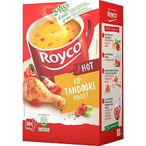 Royco tandoori kippensoep, doos van 20 zakjes