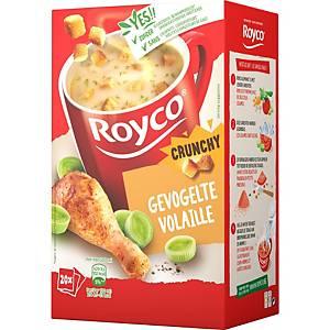 Royco Crunchy Volaille, la boîte de 20 sachets