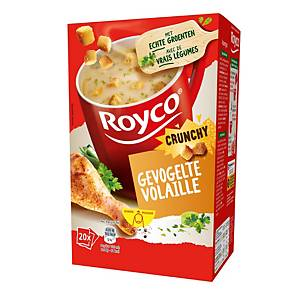 Royco soup bags -poultry cream - box of 20