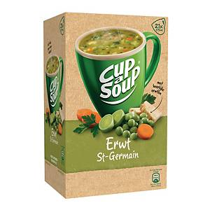 Cup-a-Soup erwtensoep, doos van 21 zakjes