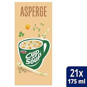 Soupe aux asperges Cup-a-Soup, la boîte de 21 sachets
