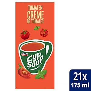 Crème de tomates Cup-a-Soup, la boîte de 21 sachets