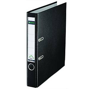 Leitz 180° Polypropylene A4 , 52mm Spine, Lever Arch File Black