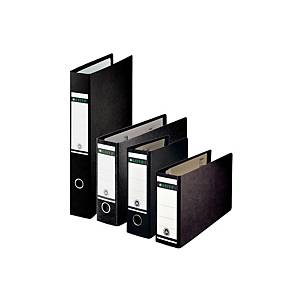 Leitz 180° A3 Oblong/Landscape Lever Arch File 80mm Spine Black