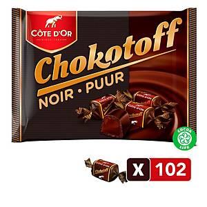 Côte d Or Chokotoff chocoladetoffees, pak van 1 kg