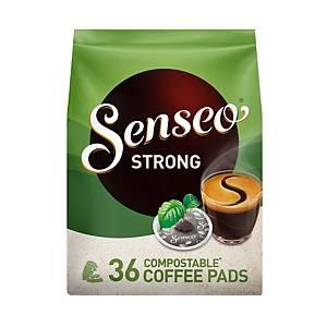 Dosettes Senseo® Strong, 7 g, le paquet de 36 dosettes