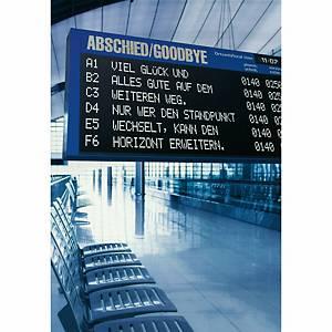 Carte d adieu ABC, 214x307 mm, allemand/anglais