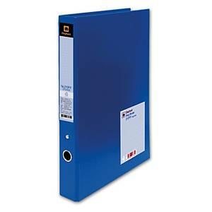 ELEPHANT 210P UPGRADE 2-O-RING BINDER FOLDER F 1.2   BLUE