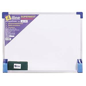 A-LINE กระดานไวท์บอร์ดชนิดไม่มีแม่เหล็ก 30 x 40ซม.
