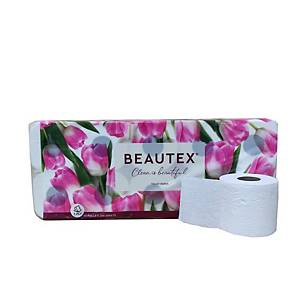 Beautex Premium Toilet Roll 200 Sheets 3 Ply - Pack of 10