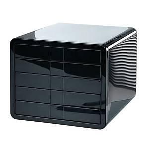 Schubladenbox HAN 1551 I-box, 5 Schubladen, schwarz